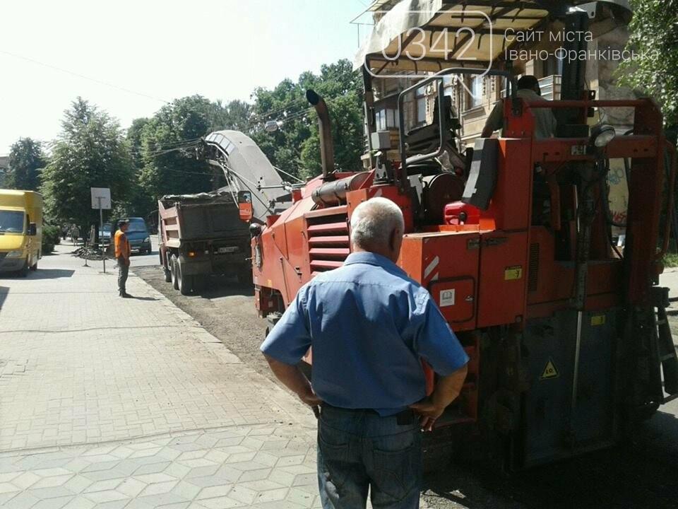 Ремонтують вулицю Коновальця у Франківську. ФОТО, фото-4