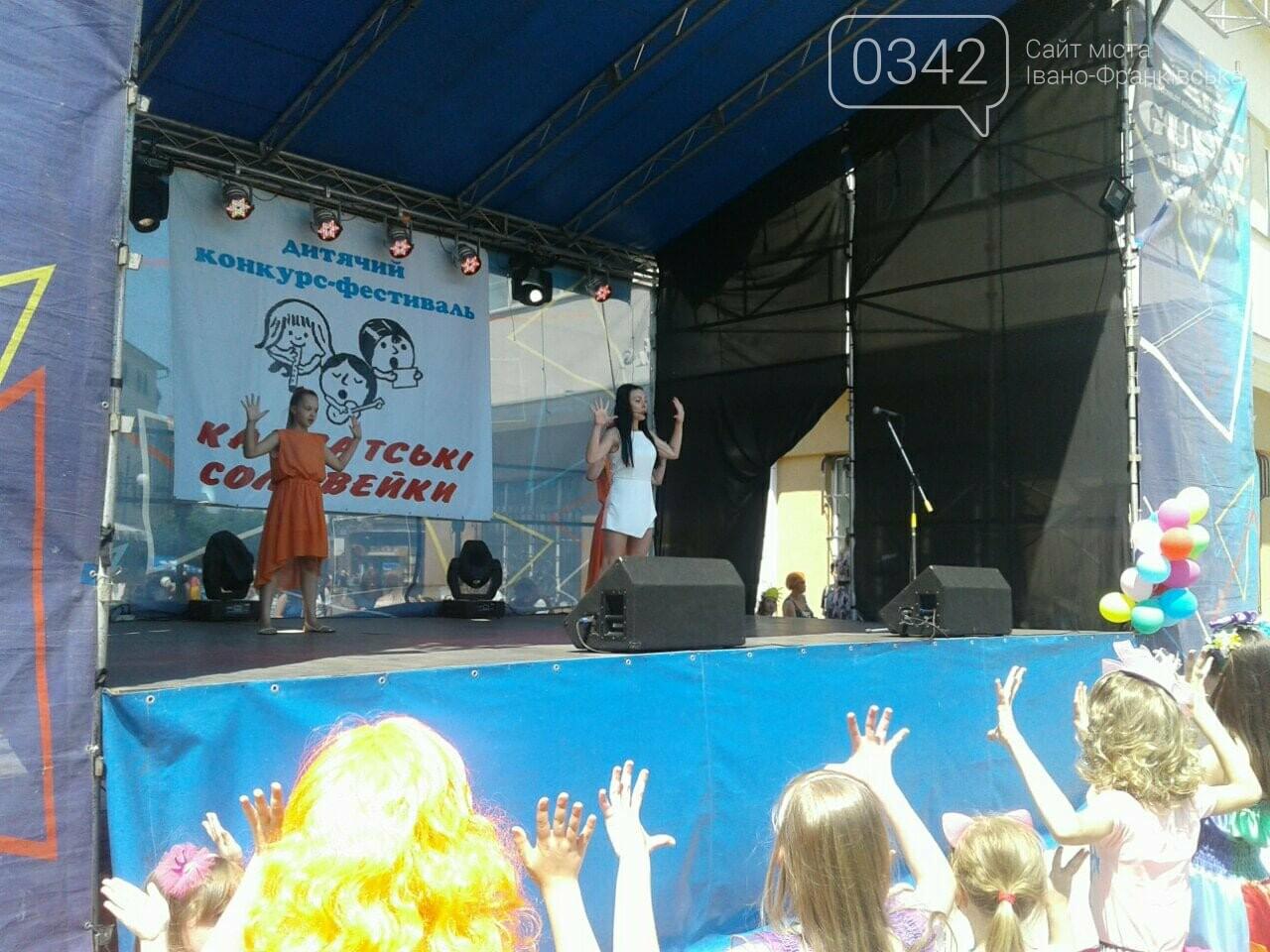 1 червня у Франківську: святкують діти. ФОТО, фото-3