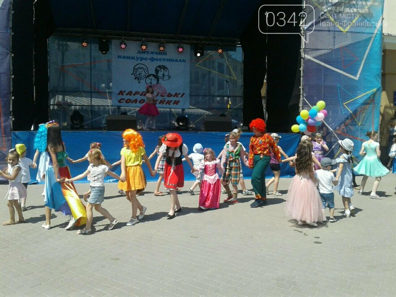 1 червня у Франківську: святкують діти. ФОТО, фото-2