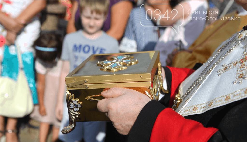 У франківський храм привезли мощі Святого Апостола Тадея (ФОТО), фото-1