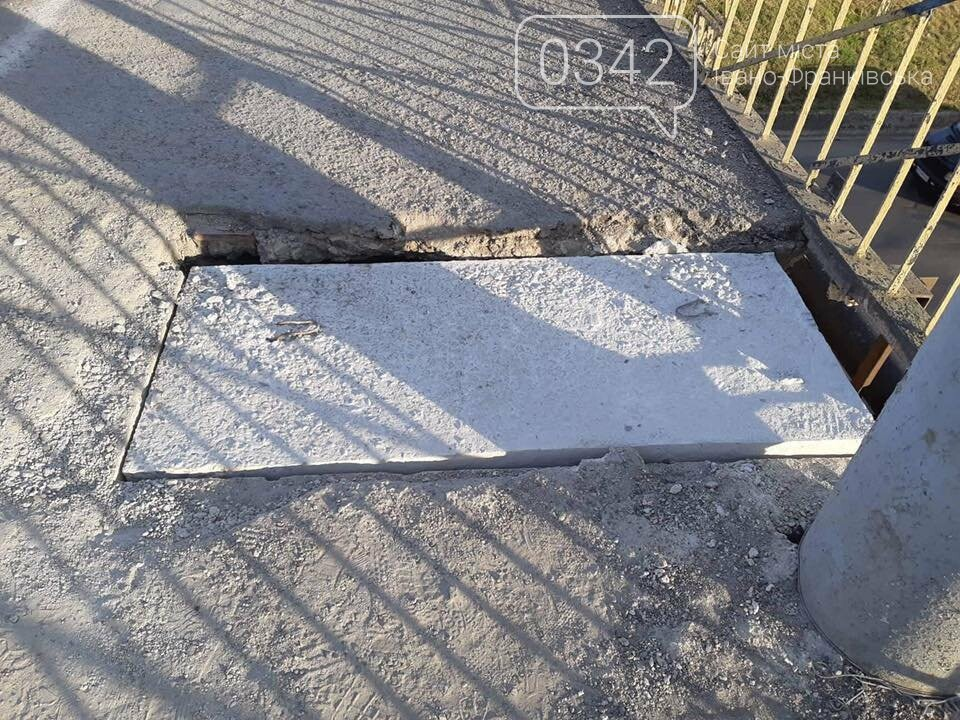 У Франківську латають пішохідну зону пасічнянського мосту (фото), фото-4