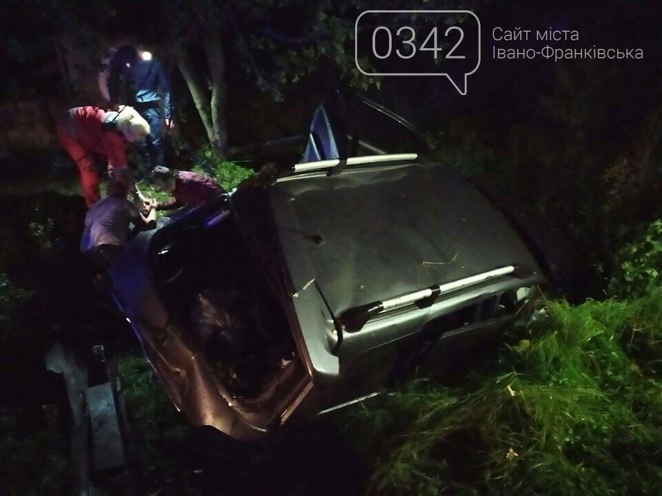 У ДТП на Прикарпатті постраждали 4 людей, фото-1