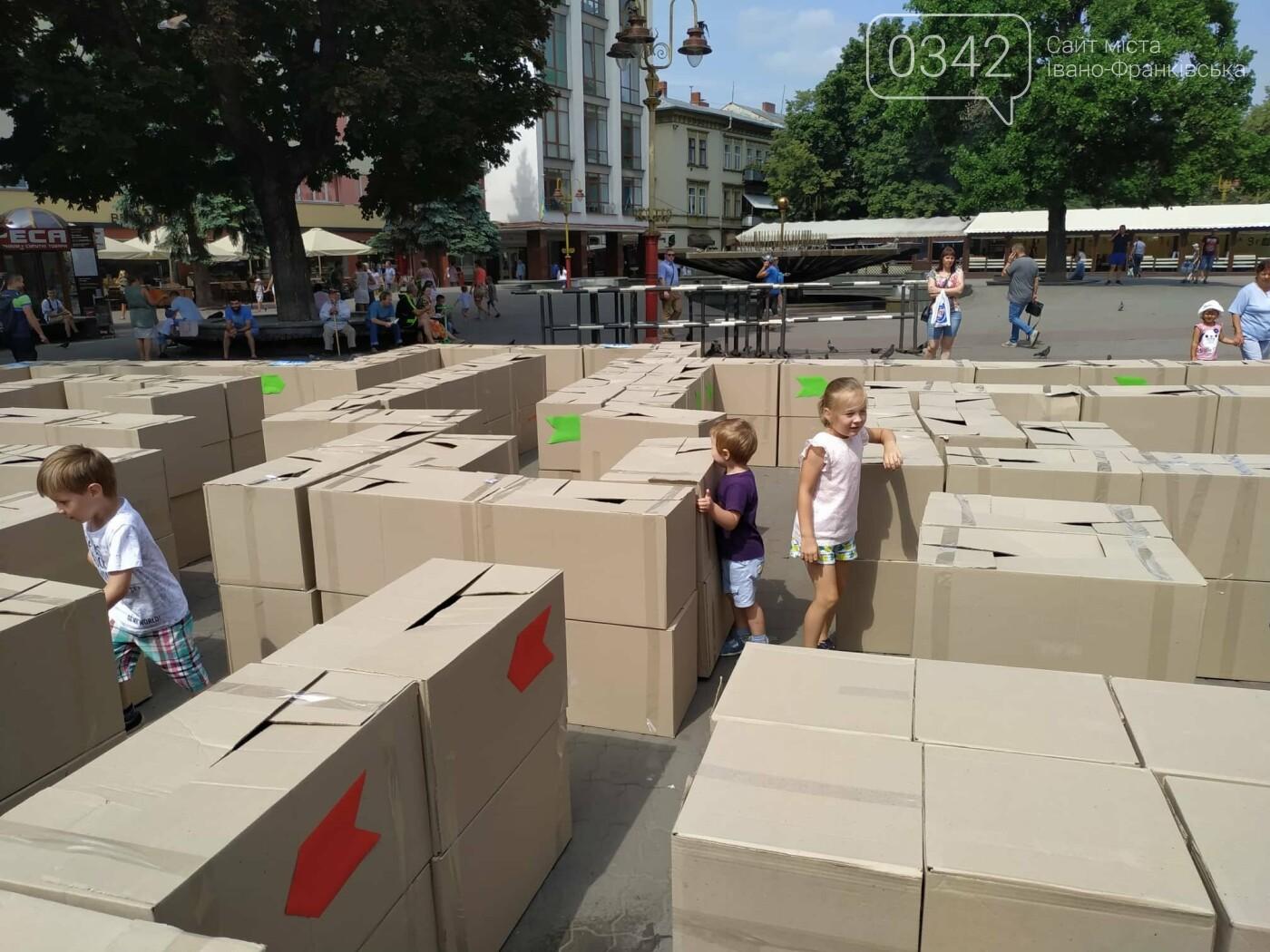 Як не потрапити у рабство: у центрі Франківська проходить квест-лабіринт (ФОТО), фото-2