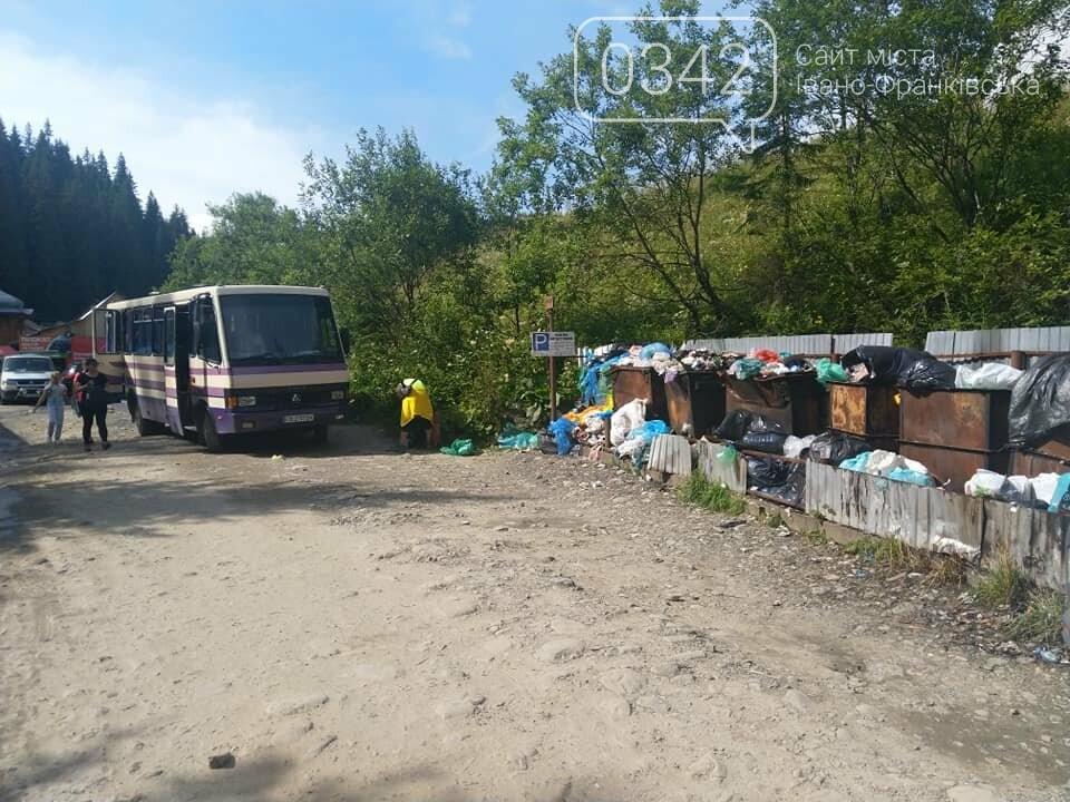 """На Франківщині відомий туристичний маршрут """"потонув"""" у смітті (фото, відео) , фото-3"""