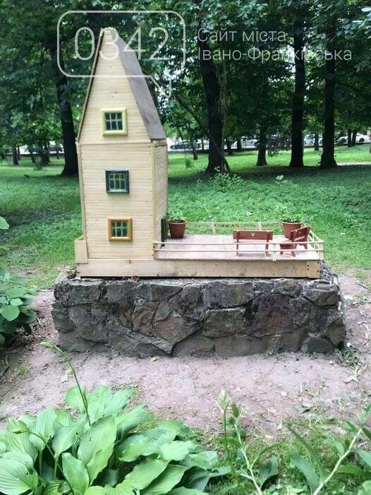 У парку Франківська з'явився будиночок для ельфів (фото), фото-1