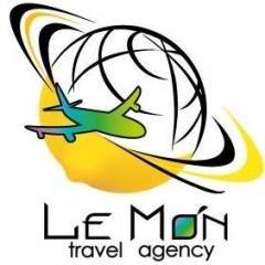 """Логотип - Мережа агенцій """"ЛеМон Тревел"""" / LeMon Travel, Івано-Франківськ"""