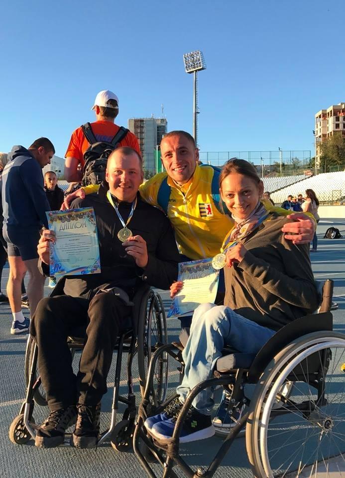 Франківські паралімпійці здобули золото на Чемпіонаті України з паралімпійської легкої атлетики. (ФОТО), фото-1