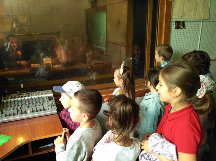 Маленькі франківці на радіо зустріли міського голову. ФОТО, фото-1