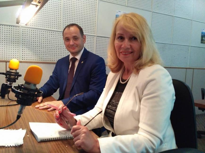 Маленькі франківці на радіо зустріли міського голову. ФОТО, фото-3