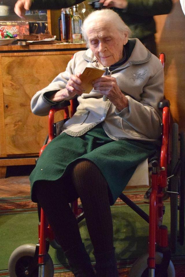 Найстаріша франківка святкує сьогодні 103-й день народження. ФОТО, фото-1