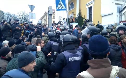 Затримання Саакашвілі і сутички в Києві. ФОТО, фото-4