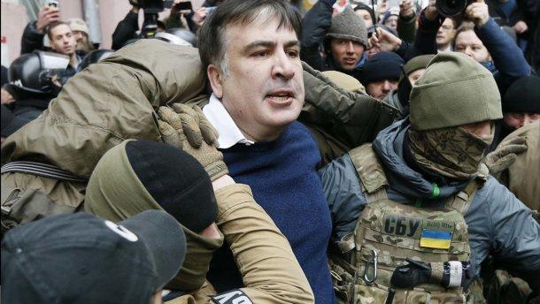 Затримання Саакашвілі і сутички в Києві. ФОТО, фото-1