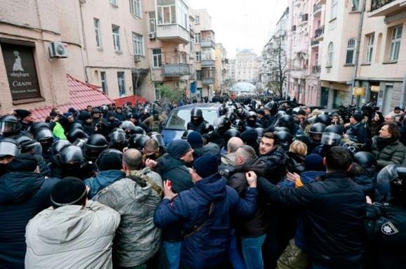 Затримання Саакашвілі і сутички в Києві. ФОТО, фото-2