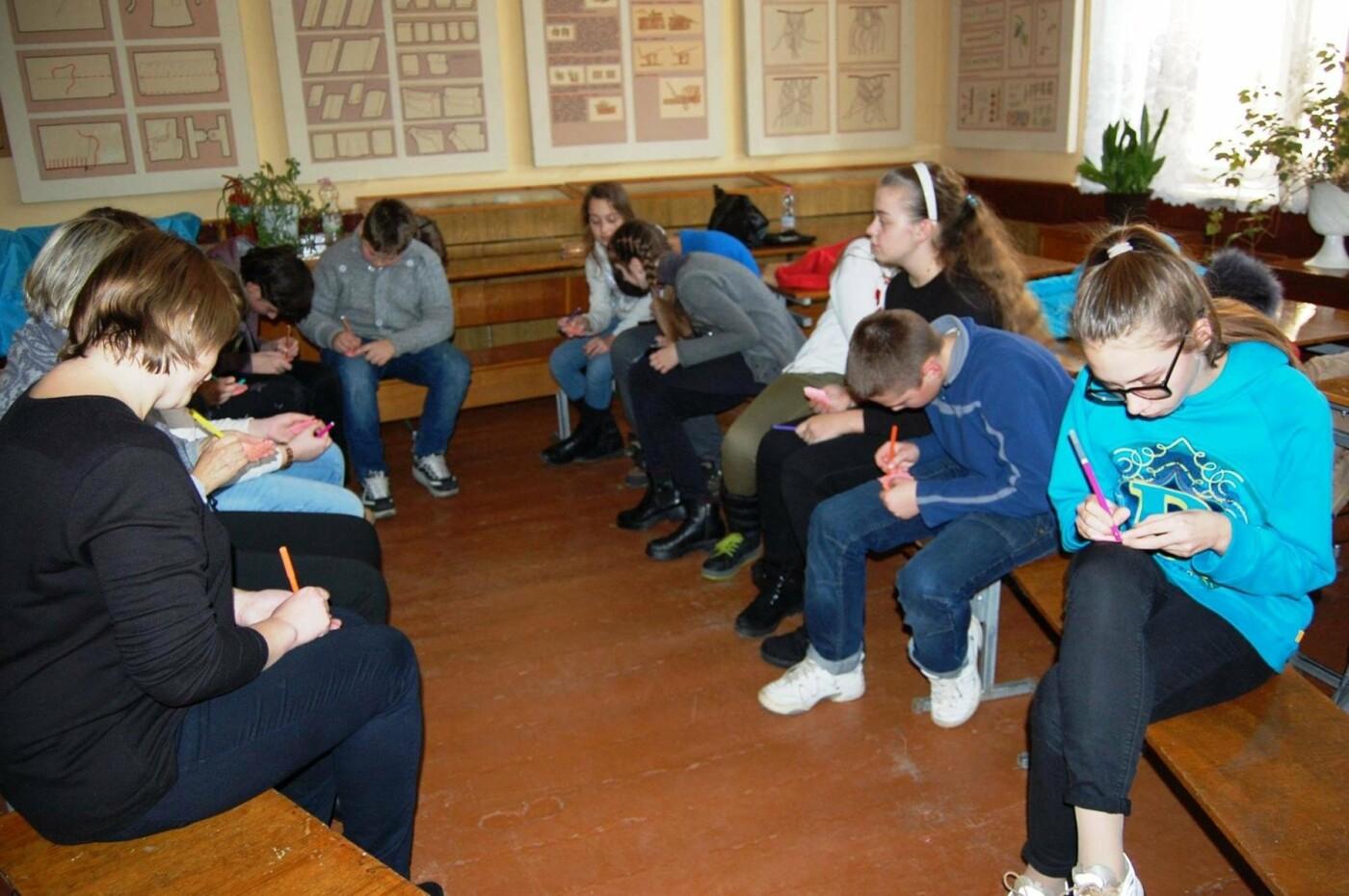 Пластуни франківської школи №16 розказали одноліткам про шкідливість наркотиків. ФОТО, фото-5