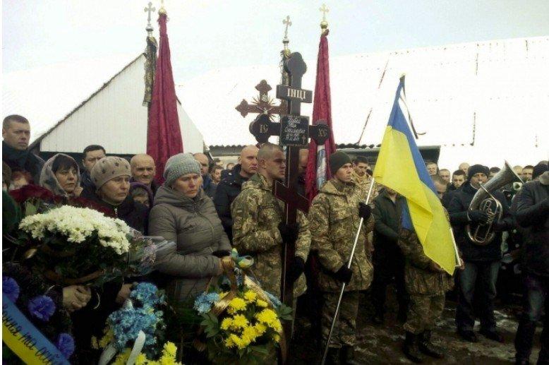 На Коломийщині прощалися із бійцем Іваном Дубеєм, який загинув від кулі снайпера, фото-1