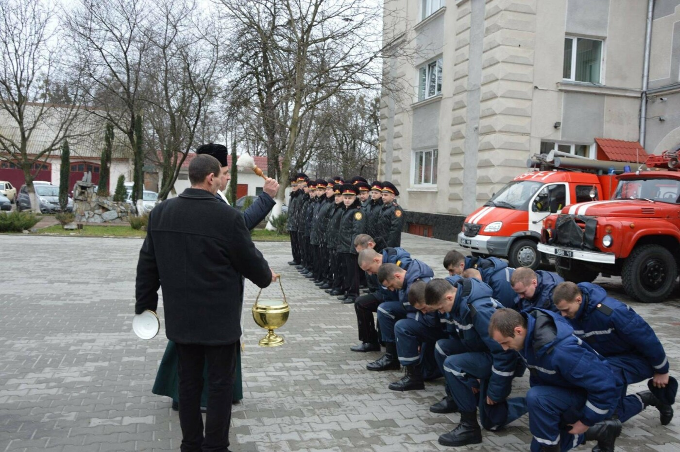 Майбутні спецрятувальники склали присягу на вірність народові України. ФОТО, фото-3
