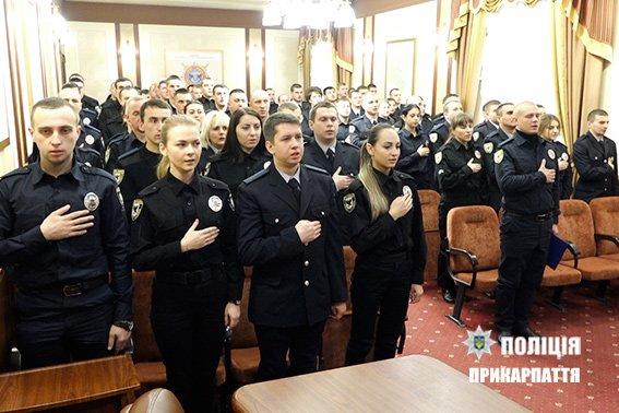 Лави франківської поліції поповнили новобранці. ФОТО, фото-2