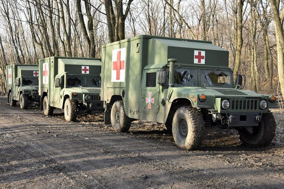 Прикарпатські військові у зоні АТО отримали медичні авто. ФОТО, фото-4
