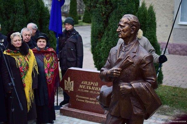 У Франківську відкрили пам'ятник Андрію Мельнику. ФОТО, фото-4
