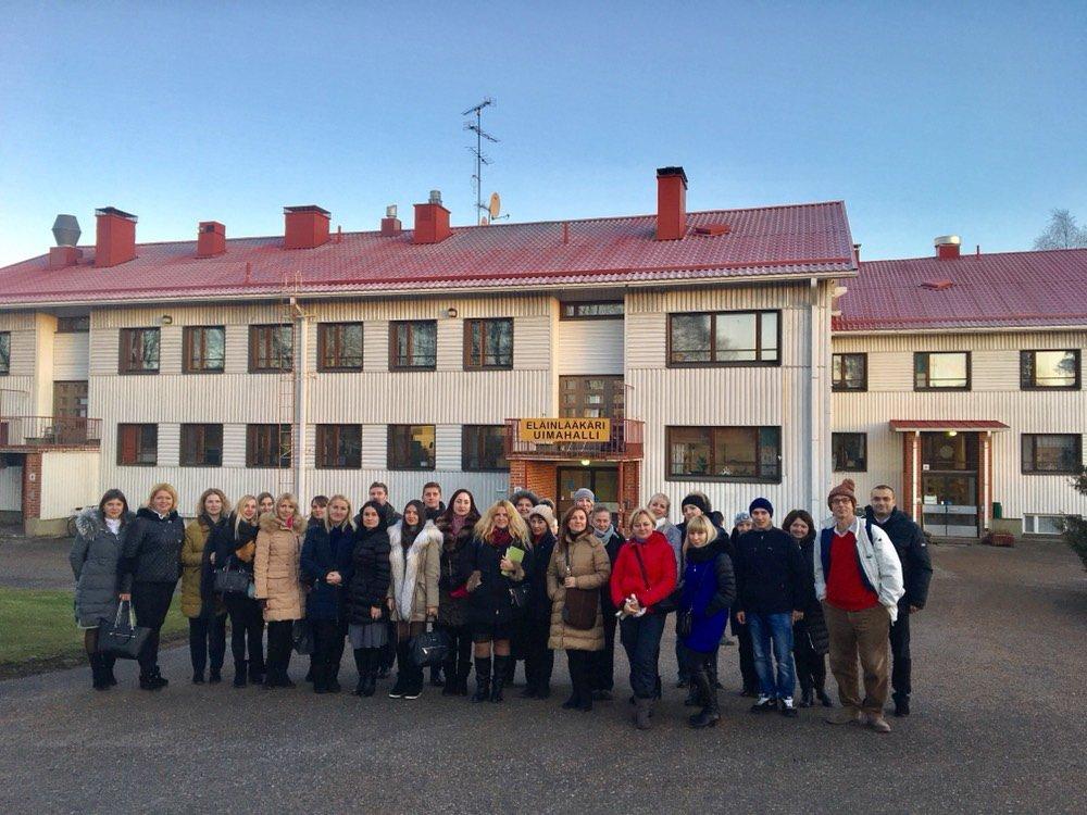 Івано-Франківські студенти презентували свій науковий проект у Фінляндії. ФОТО, фото-2