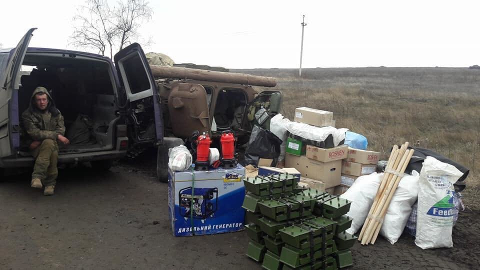 Франківські атовці передали воїнам гуманітарну допомогу. ФОТО, фото-2