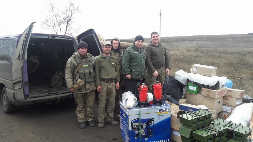 Франківські атовці передали воїнам гуманітарну допомогу. ФОТО, фото-1
