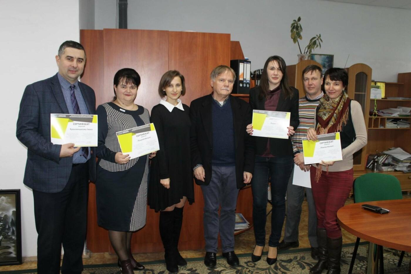 З викладачами Івано-Франківського університету провів заняття експерт з Німеччини, фото-3