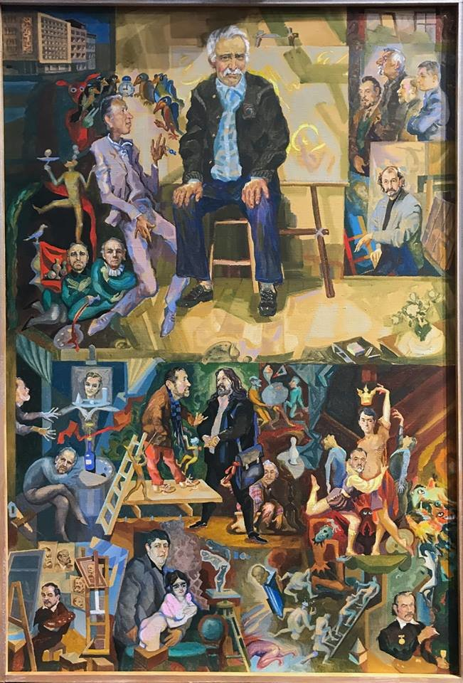 Із виставки у Франківську зняли картину через скарги. ФОТО, фото-1