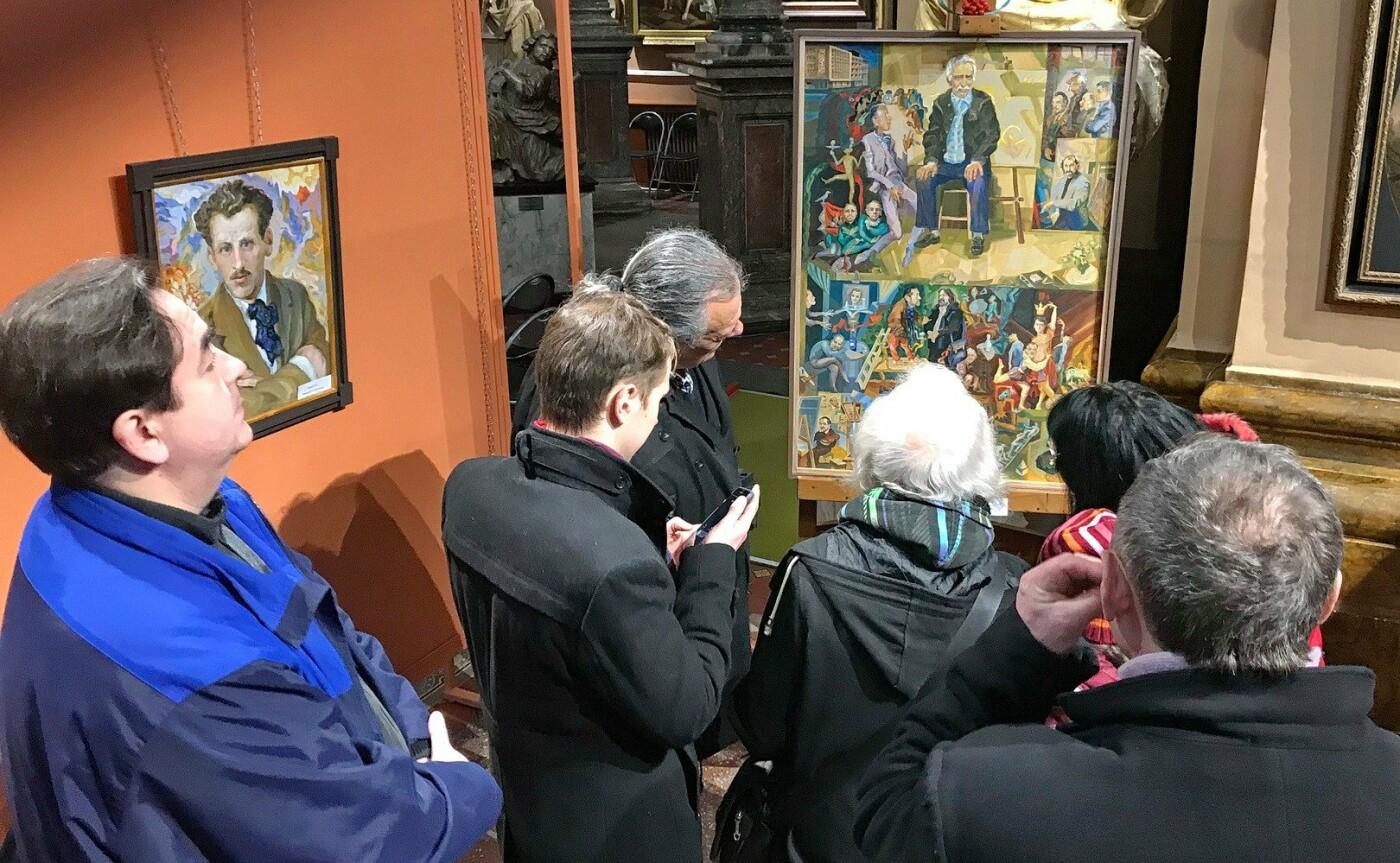 Із виставки у Франківську зняли картину через скарги. ФОТО, фото-9