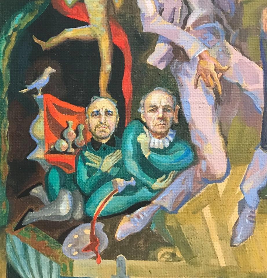 Із виставки у Франківську зняли картину через скарги. ФОТО, фото-4