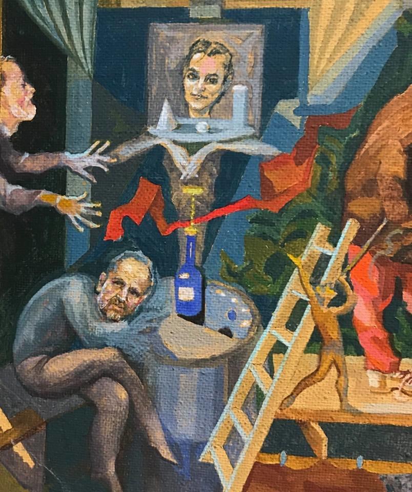 Із виставки у Франківську зняли картину через скарги. ФОТО, фото-6