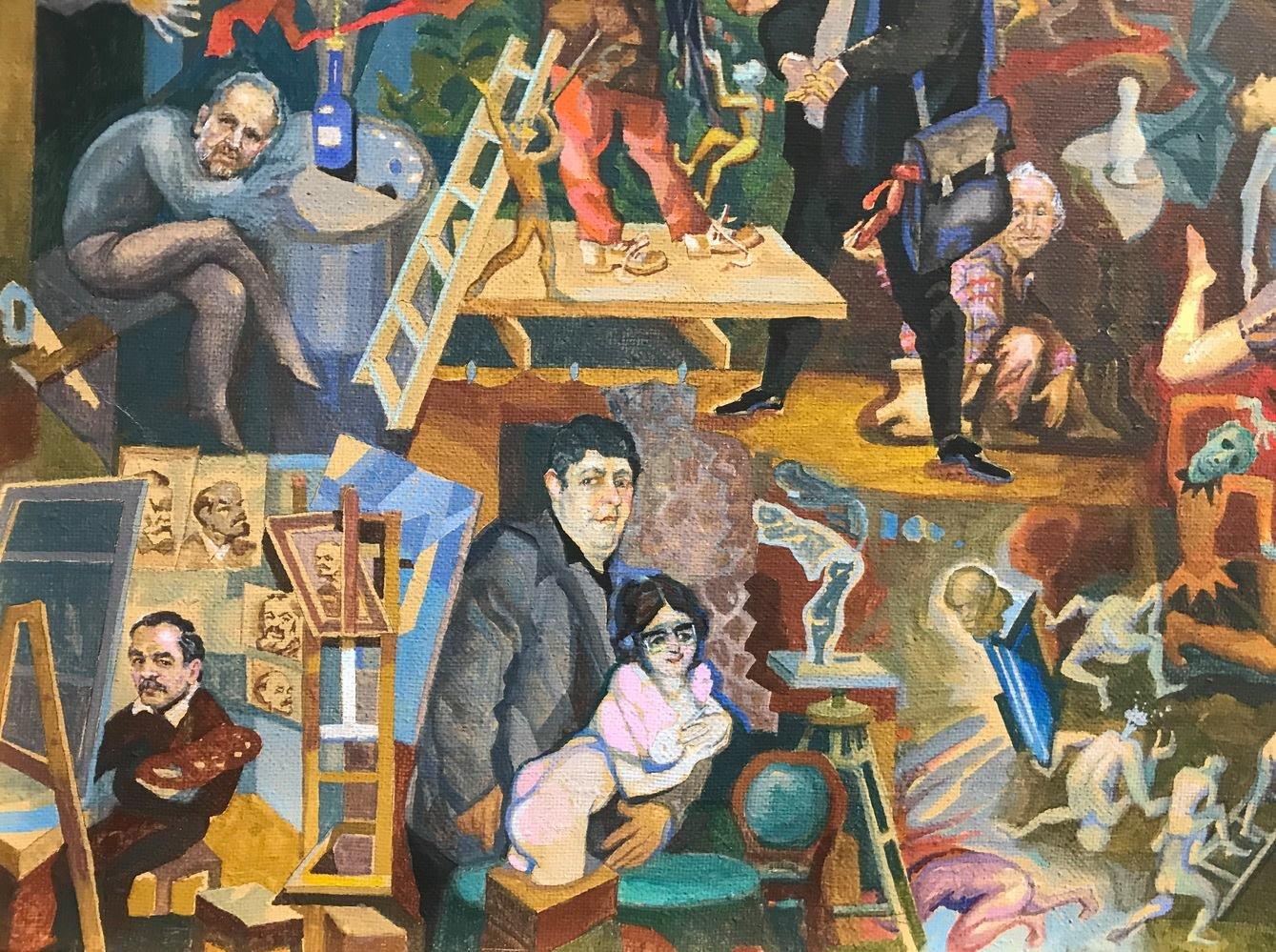 Із виставки у Франківську зняли картину через скарги. ФОТО, фото-7