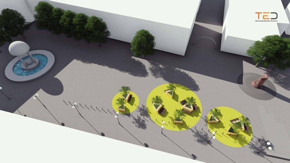 Цього року планують громадський простір на майдані Шептицького у Франківську. ПРОЕКТ, фото-2