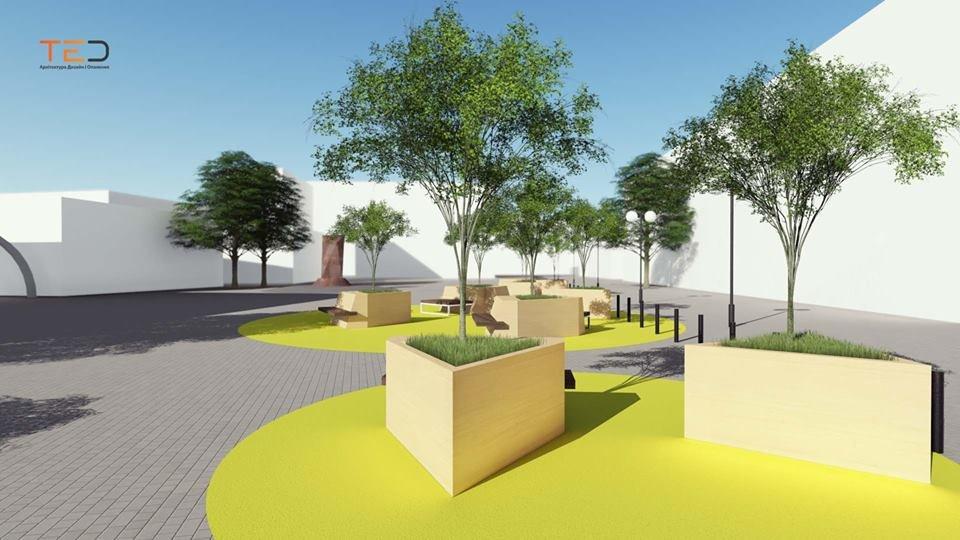 Цього року планують громадський простір на майдані Шептицького у Франківську. ПРОЕКТ, фото-6
