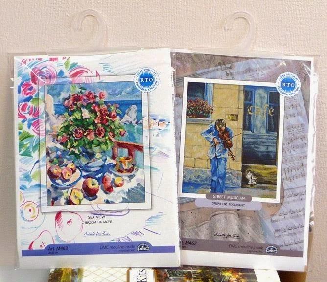 Автора не питалися. На картину франківського художника у Росії розробили схему вишивки. ФОТО, фото-2