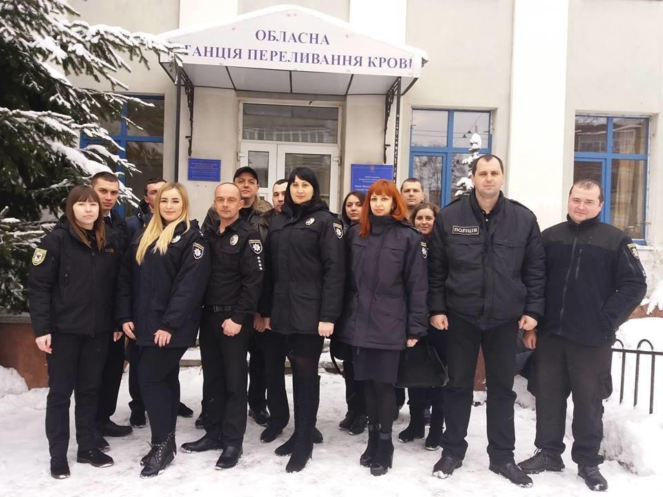 Прикарпатські правоохоронці здали кров для онкохворих дітей. ФОТО, фото-2