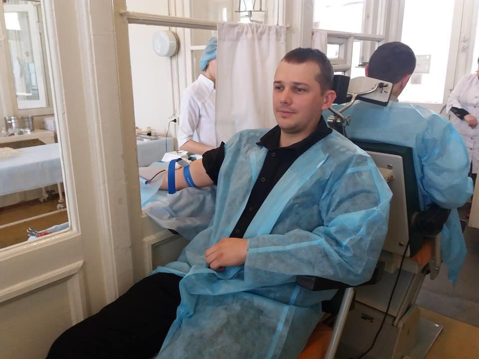 Прикарпатські правоохоронці здали кров для онкохворих дітей. ФОТО, фото-3