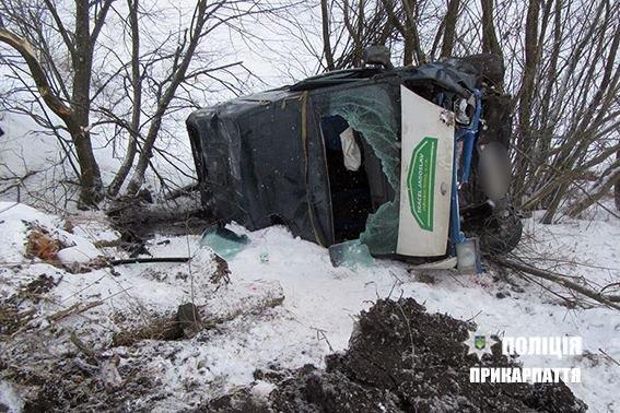 ДТП дорогою на Тернопіль. Травмований водій. ФОТО, фото-2