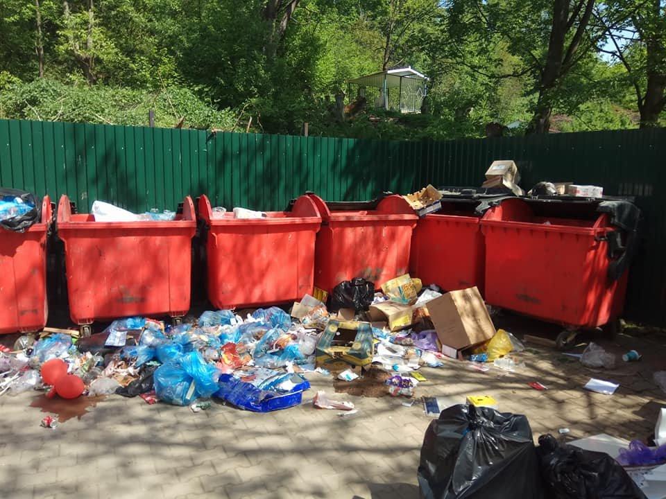 У Косові сміття викидають в кількох кроках від контейнерів. ФОТО, фото-1