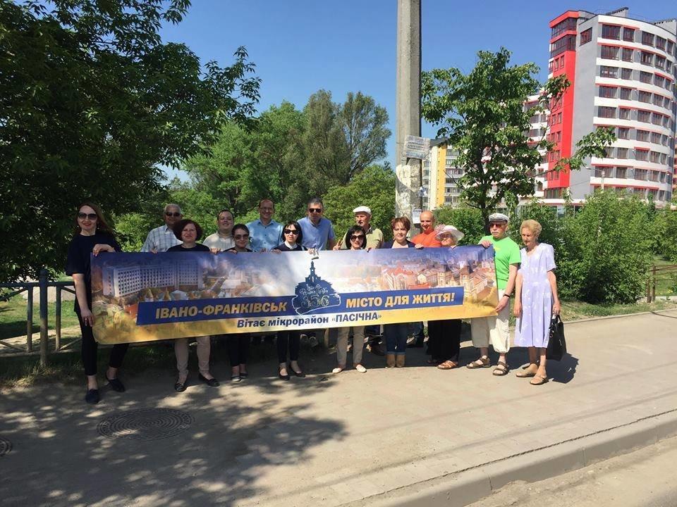 Флешмоб: мікрорайони вітають Франківськ із днем народження. ФОТО, фото-7