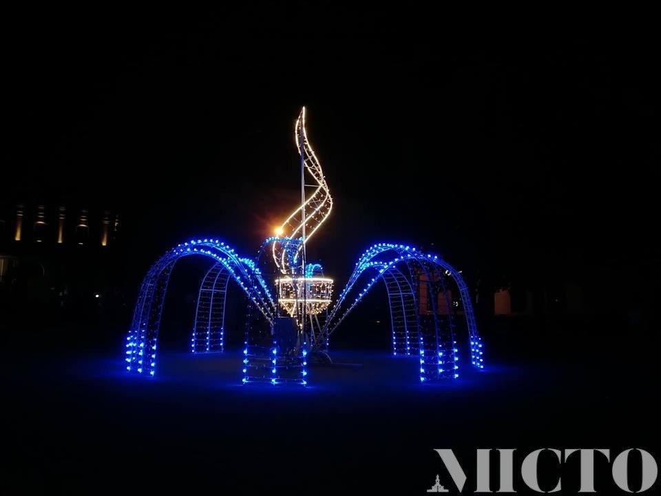 У Франківську запрацював світловий 3D фонтан. ФОТО, фото-2