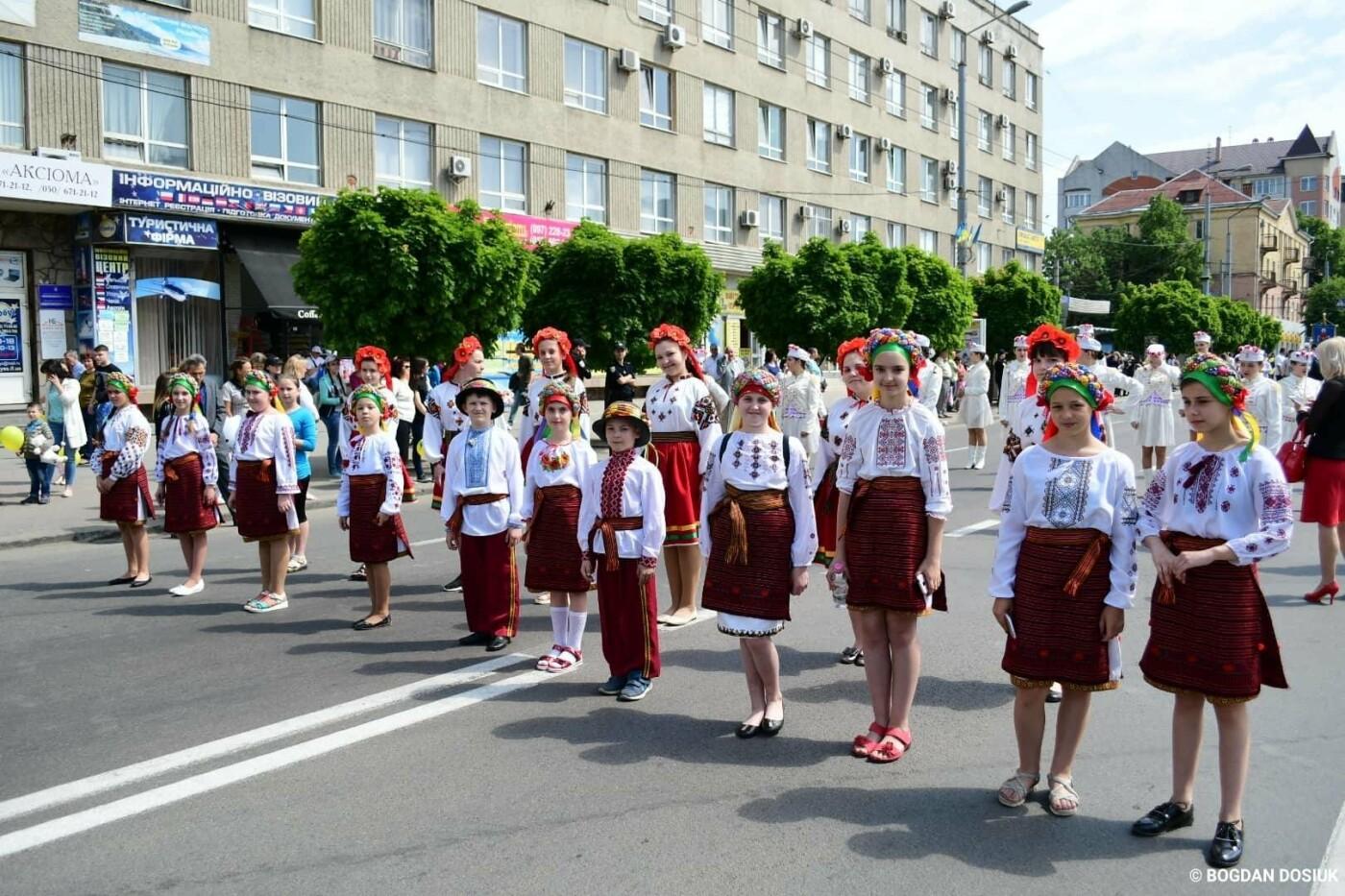 Франківськ привітали урочистою тисячною ходою. ФОТО, фото-11