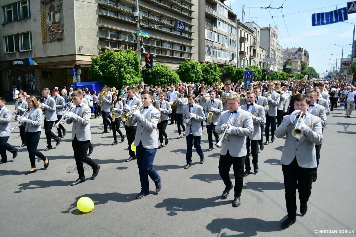 Франківськ привітали урочистою тисячною ходою. ФОТО, фото-3