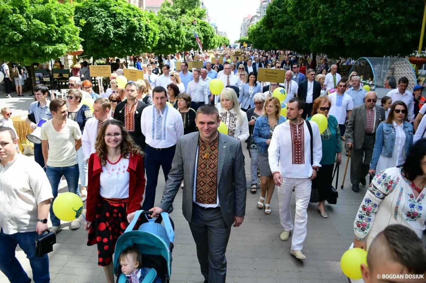 Франківськ привітали урочистою тисячною ходою. ФОТО, фото-12