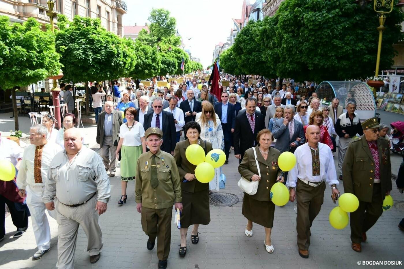 Франківськ привітали урочистою тисячною ходою. ФОТО, фото-6