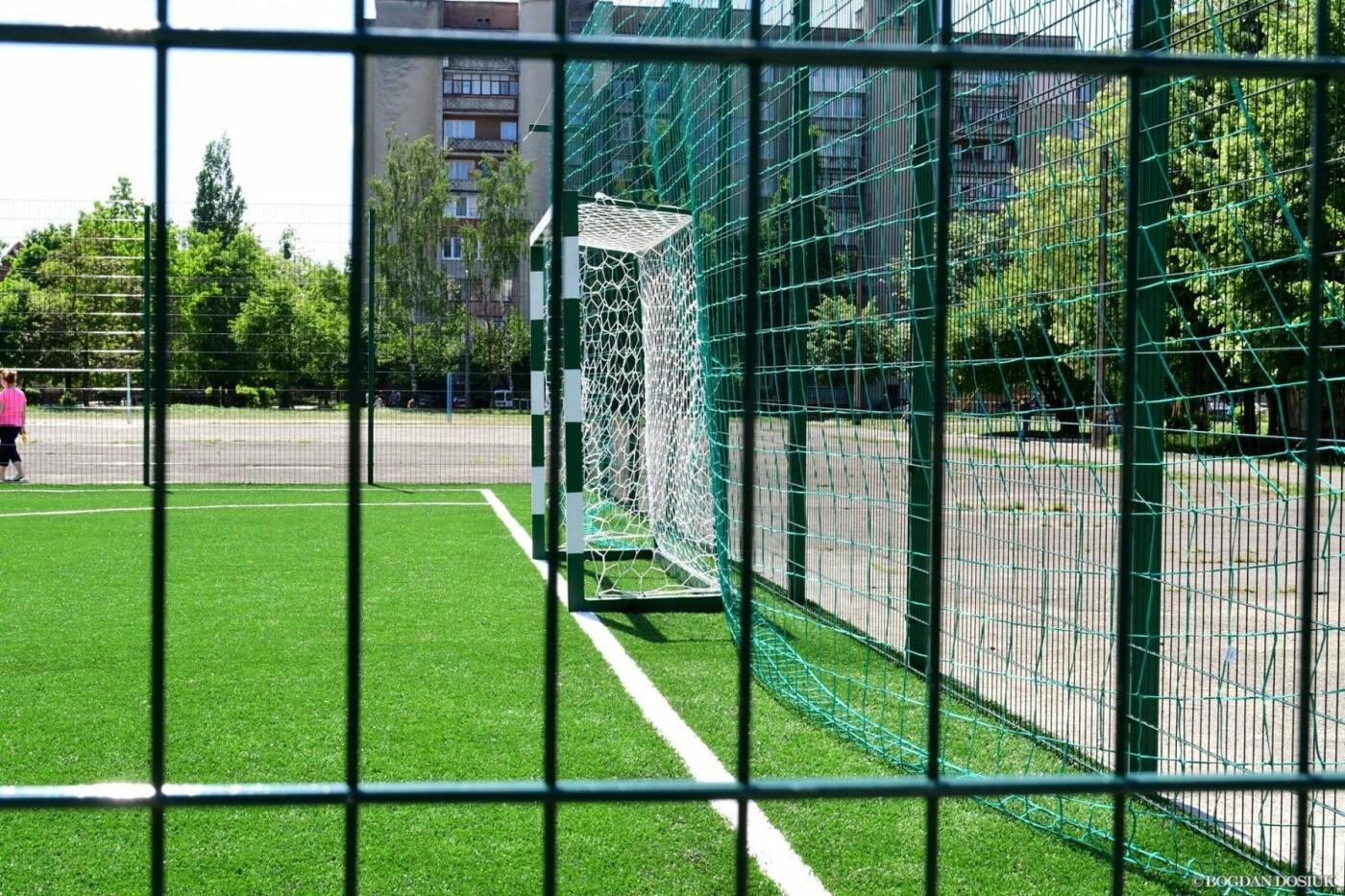 До Дня міста школярам подарували новенький спортивний майданчик. ФОТО, фото-4