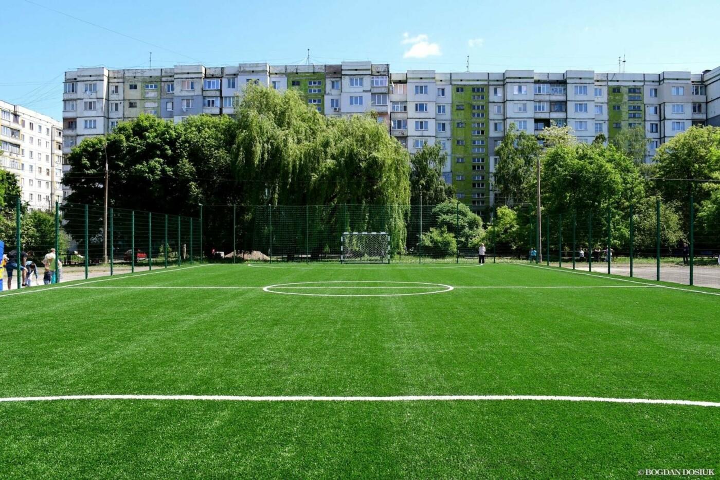 До Дня міста школярам подарували новенький спортивний майданчик. ФОТО, фото-6