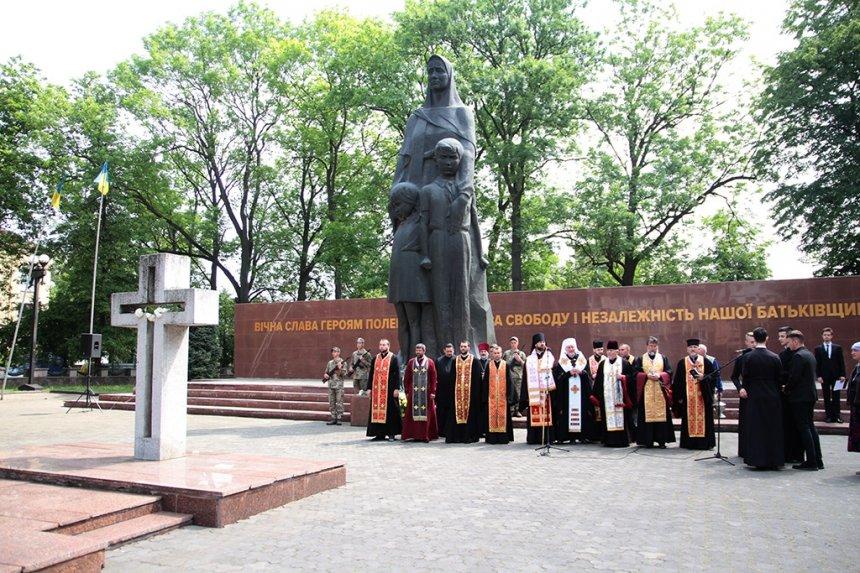 В Івано-Франківську вшанували загиблих у Другій світовій війні. ФОТО, фото-8