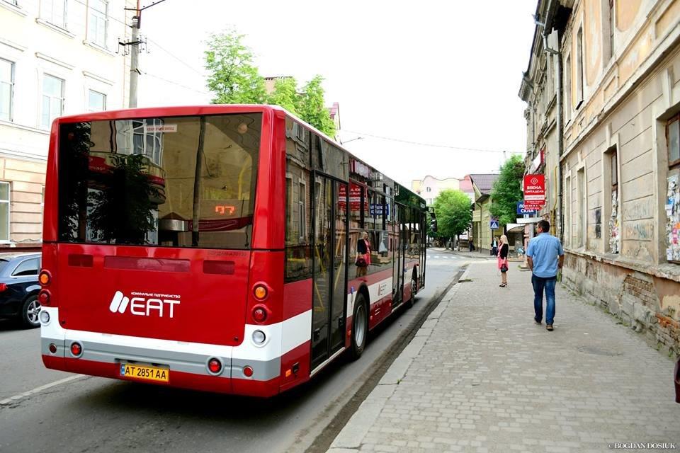 Міський голова Франківська проїхався у комунальному автобусі за 4 гривні. ФОТО, фото-6