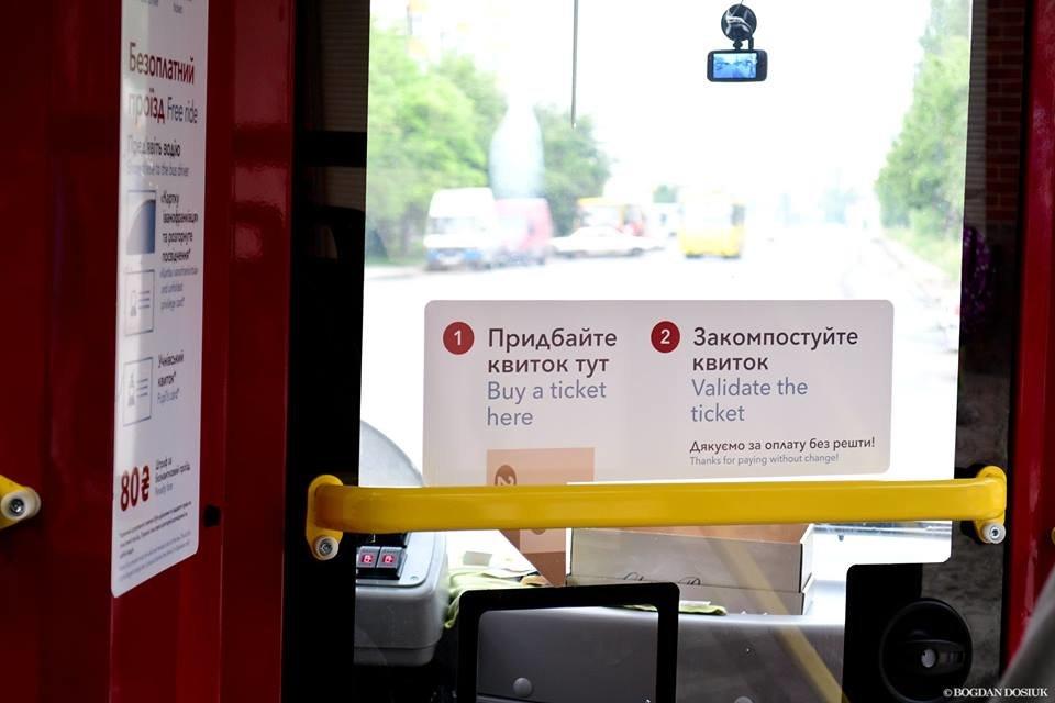 Міський голова Франківська проїхався у комунальному автобусі за 4 гривні. ФОТО, фото-1